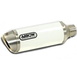 ARROW Street Thunder Aluminio BLANCO punta inox Gladius '09-15
