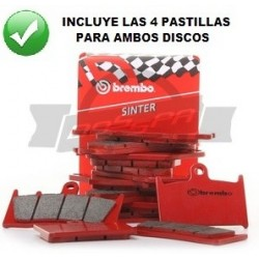 Pastillas delanteras Brembo CBR600F 91-94