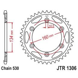 Corona CBR1000RR '04-16 (elegir medida)