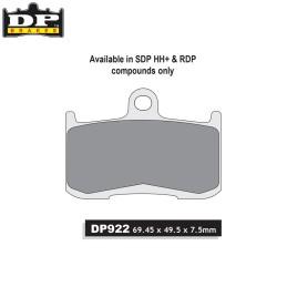 Pastillas freno delanteras DP Z900 '17-18
