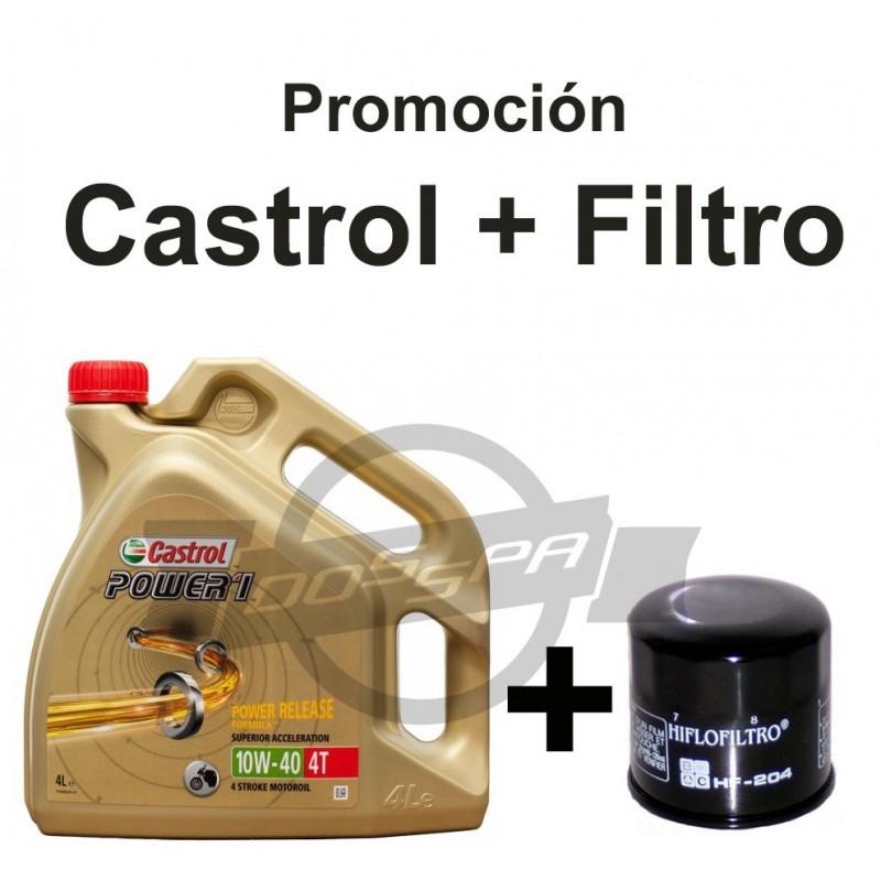 Promo Castrol + Filtro de aceite