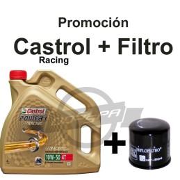 Castrol Racing + filtro