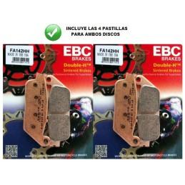 Pastillas delanteras EBC HH Z750 '07-12
