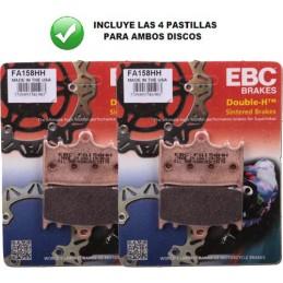Pastillas Delanteras EBC HH GSR600