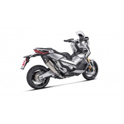Akrapovic Slip-On Negro Piaggio MP3 400/500