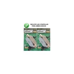 Pastillas delanteras Dunlopad GSF600 y 650 '00-06