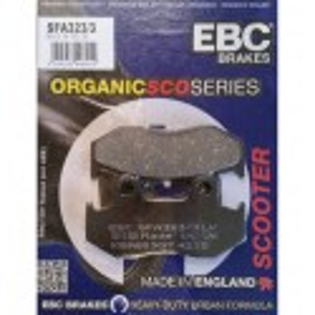 Pastillas de freno EBC SFA323/3
