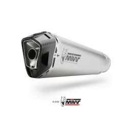 SILENCIOSO MIVV DELTA RACE INOX coppa carbono para S 1000 RR del 2017 al 2018