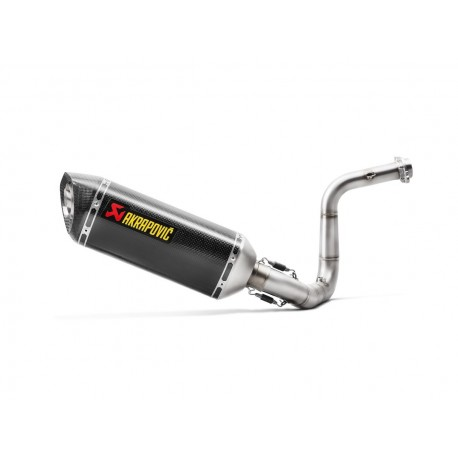 Escapes completos Racing Akrapovic para BMW G 310 GS del 2017 al 2021