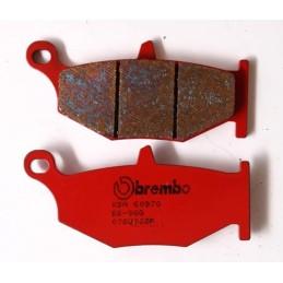 Pastillas traseras Brembo GSX-R 600/750 '06-10