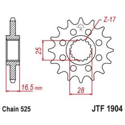 PIÑON JTF1904-16
