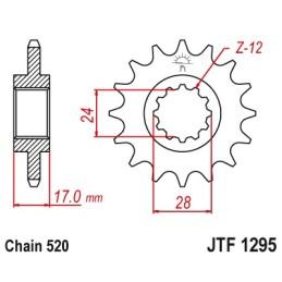 PIÑÓN JTF1295-15