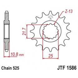 Piñón JTF1586-15