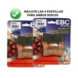 Pastillas delanteras EBC HH GSX-R 600/750/1000 '04--
