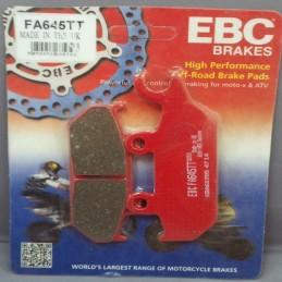 Pastillas de freno EBC FA645TT