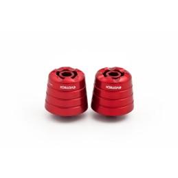 Contrapesos Aprilia Shiver 900 rojo