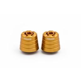 Contrapesos Aprilia Shiver 900 dorado