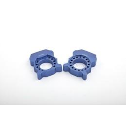 Bloques tensa cadena Honda CBR600RR '05-16 / CBR1000RR '04-07 azul