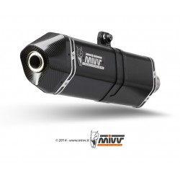 MIVV Speed Edge Steel Black Z800 '13-