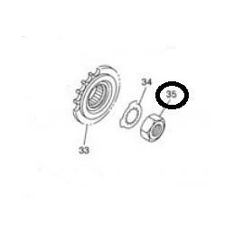 Tuerca piñón de ataque FZ6 '04-06