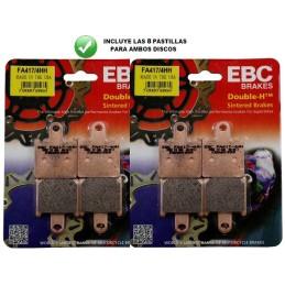 Pastillas delanteras EBC HH ZZR1400