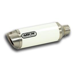 Arrow Racetech Aluminio NEGRO Z800 '13-
