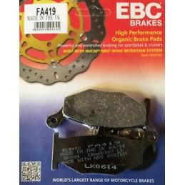 Pastillas traseras EBC standard GSR600