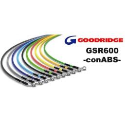 Latiguillos metálicos GSR600 ABS