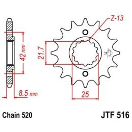 Piñón JTF516-13