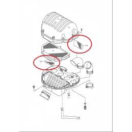 Kit esponjas filtro de aire GSR600