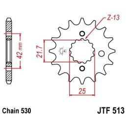 Piñón JTF513 (elegir medida)